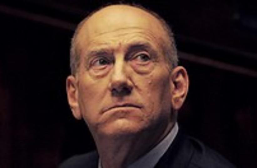 Olmert knesset 224.88 (photo credit: AP)