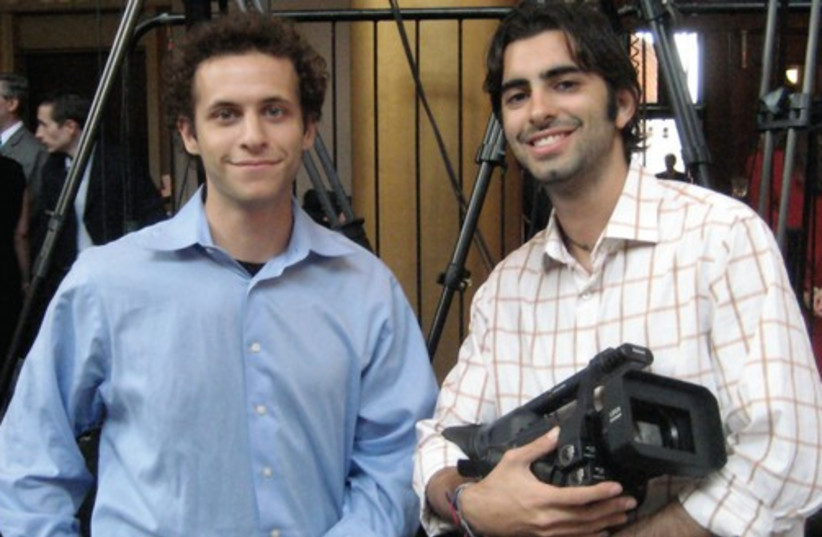 Michael Pertnoy and Michael Kleiman (photo credit: Courtesy of Righteous Pictures)