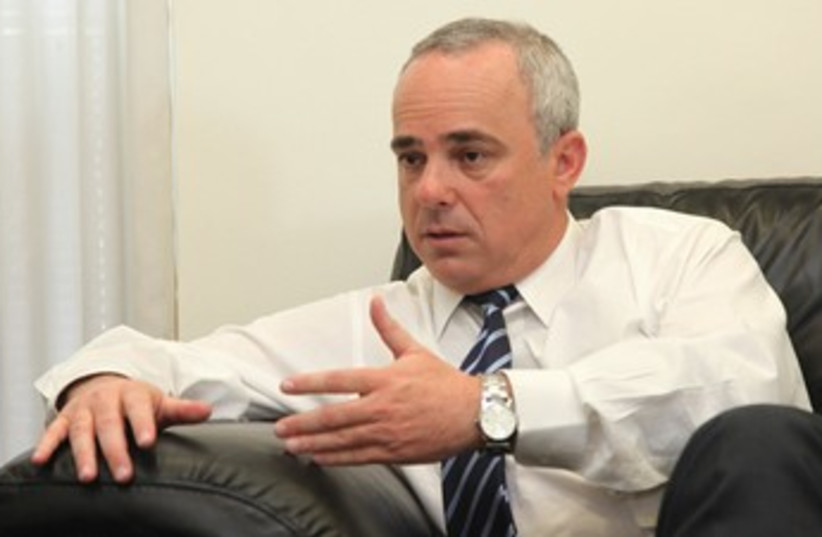 Steinitz in interview with Jerusalem Post_370 (photo credit: Marc Israel Sellem/The Jerusalem Post)
