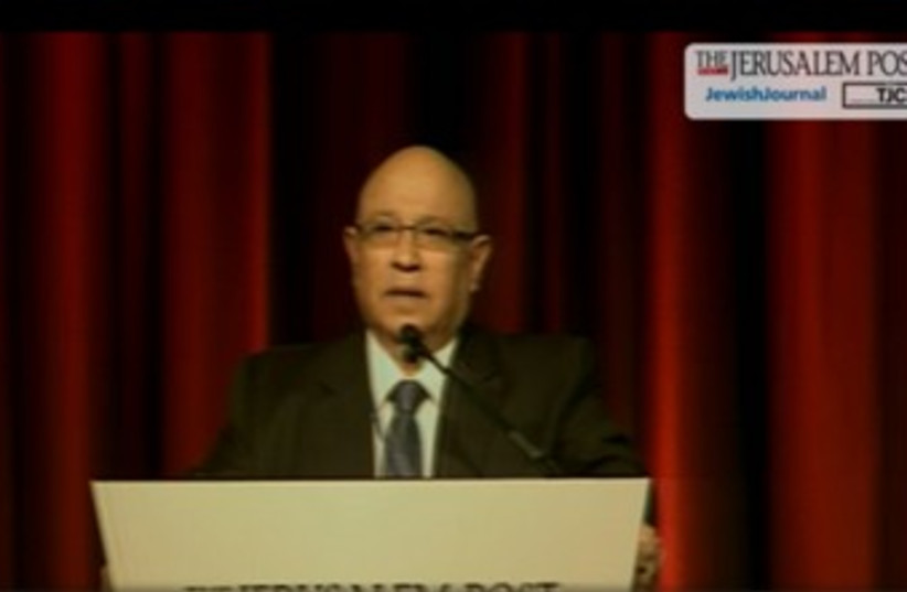 Ex-Mossad chief Meir Dagan at Jpost conference_370 (photo credit: Screenshot )