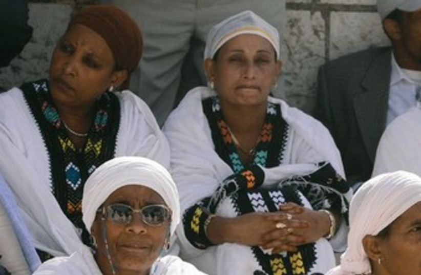 Falash Mura women 370 (photo credit: Marc Israel Sellem)