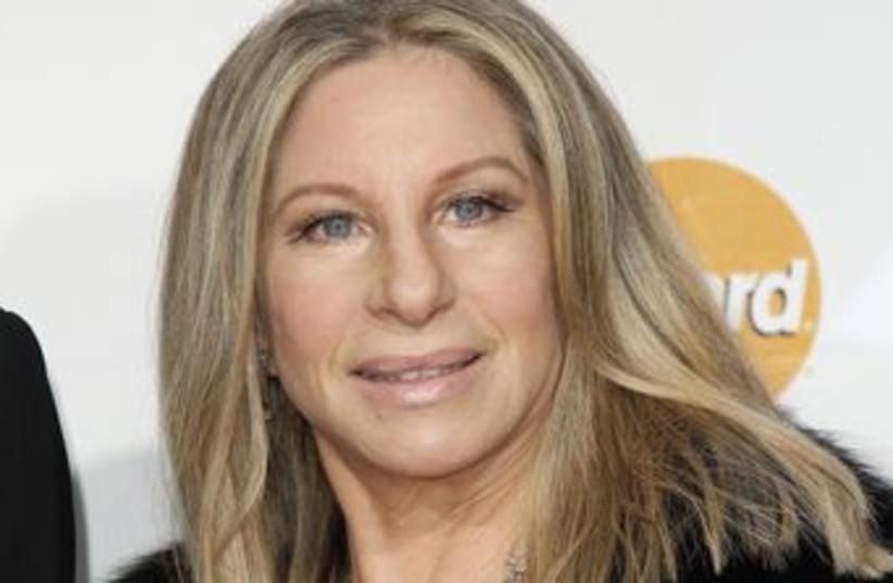 Barbra Streisand (photo credit: REUTERS/Danny Moloshok)