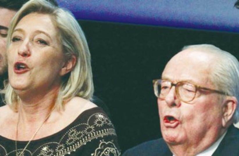 Marine Le Pen (photo credit: Pascal Rossignol/Reuters)