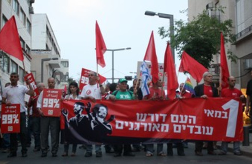 Tel Aviv May Day march 370 (photo credit: Ben Hartman)