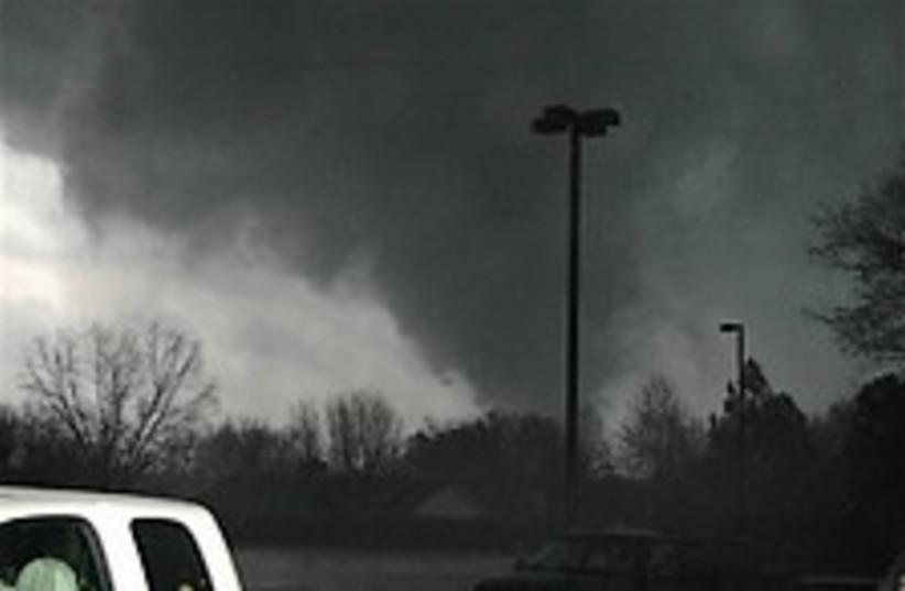 arkansas tornado 224.88  (photo credit: AP)