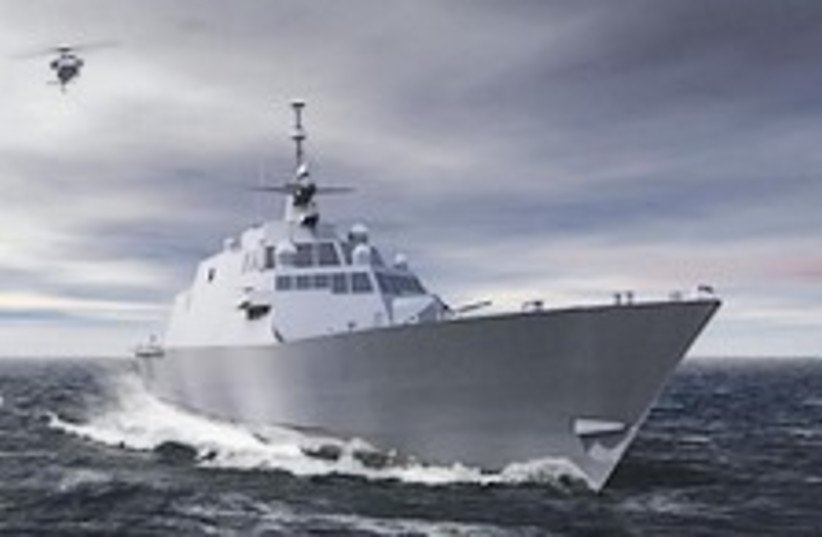 littoral combat ship (photo credit: Courtesy)