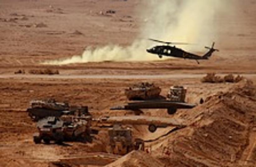 IDF drill wicked 224.88 (photo credit: IDF)
