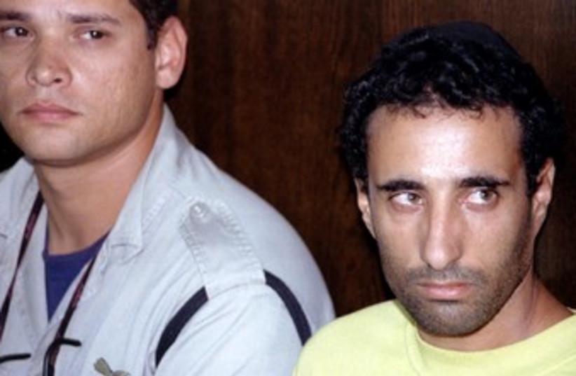 Hagai Amir in court in 1995 370 (R) (photo credit: R)