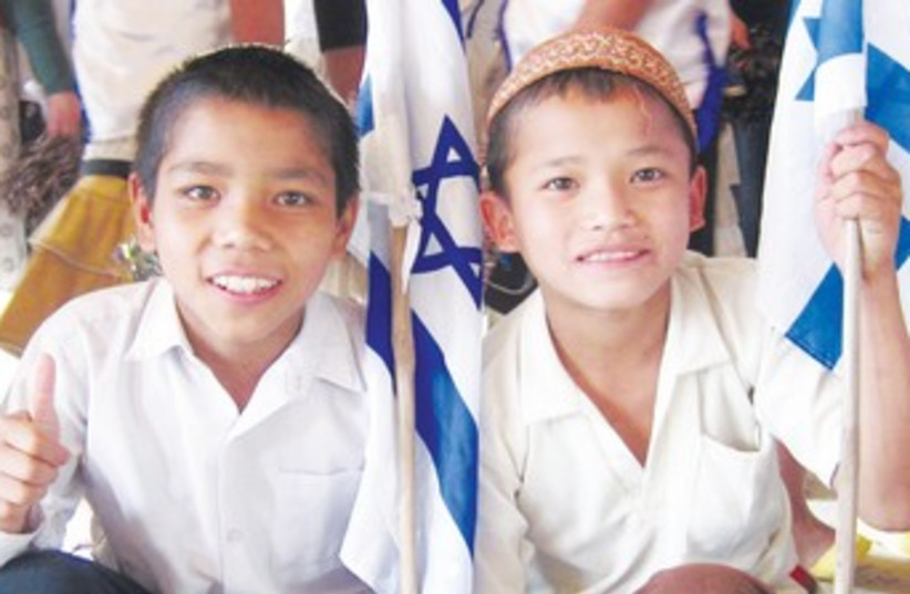 young members of Bnei Menashe_370 (photo credit: Courtesy Shavei Israel)
