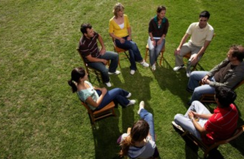 group psychotherapy, psychology, support group 370 (photo credit: Thinkstock/Imagebank)