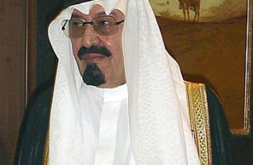 saudi king 298  (photo credit: AP)