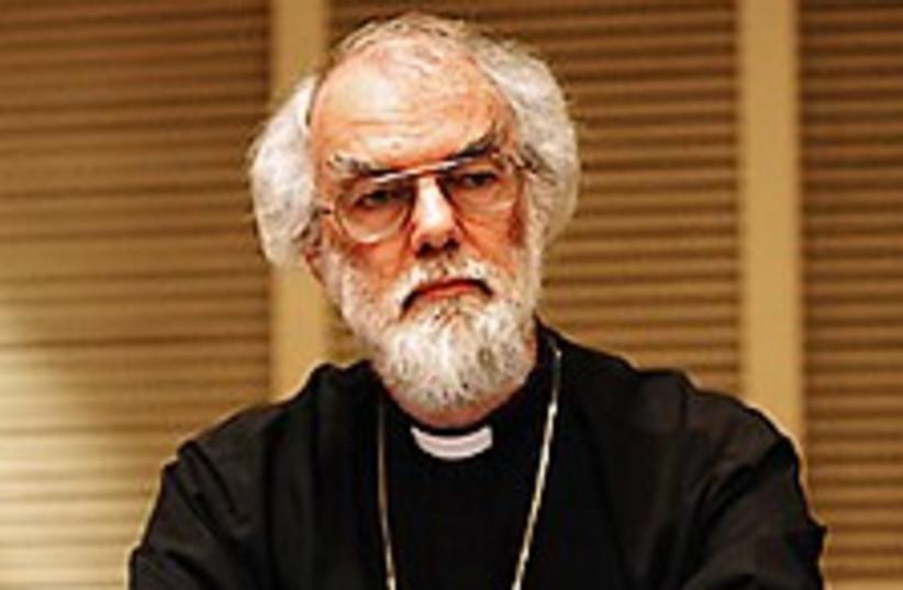 archbishop williams 224 (photo credit: AP)
