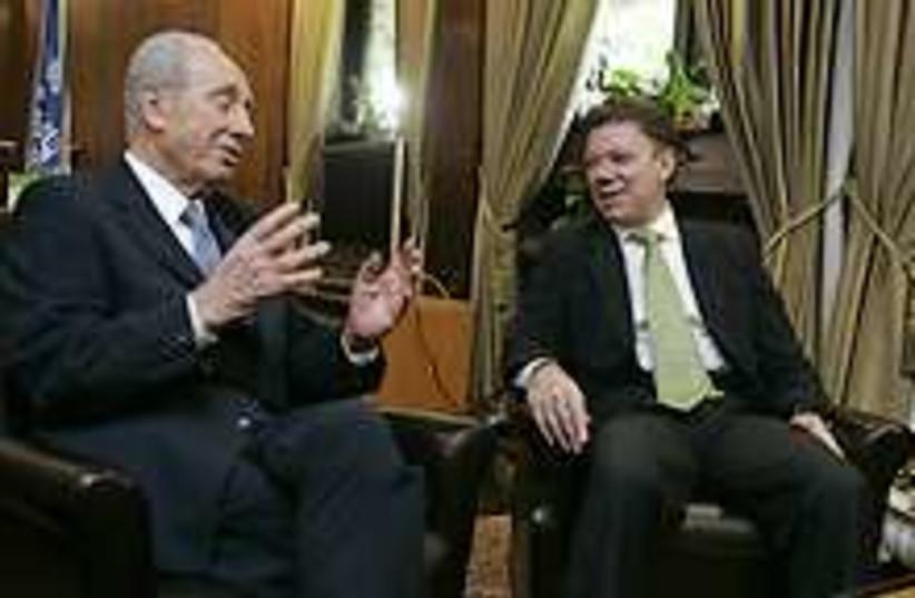 Peres Santos 224.88 (photo credit: AP)