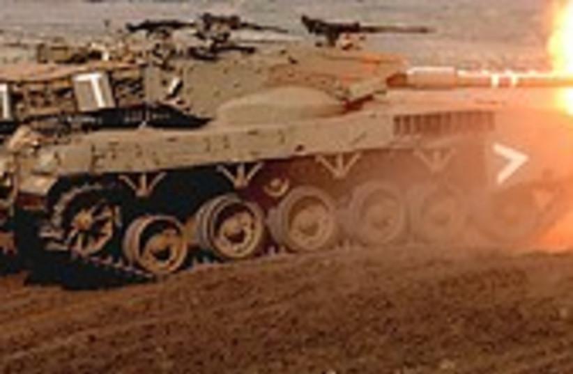 Tank fucking cool 224.88 (photo credit: AP)