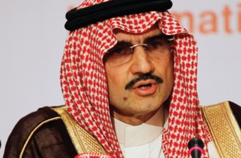 AL-WALEED BIN TALAL (photo credit: Reuters)