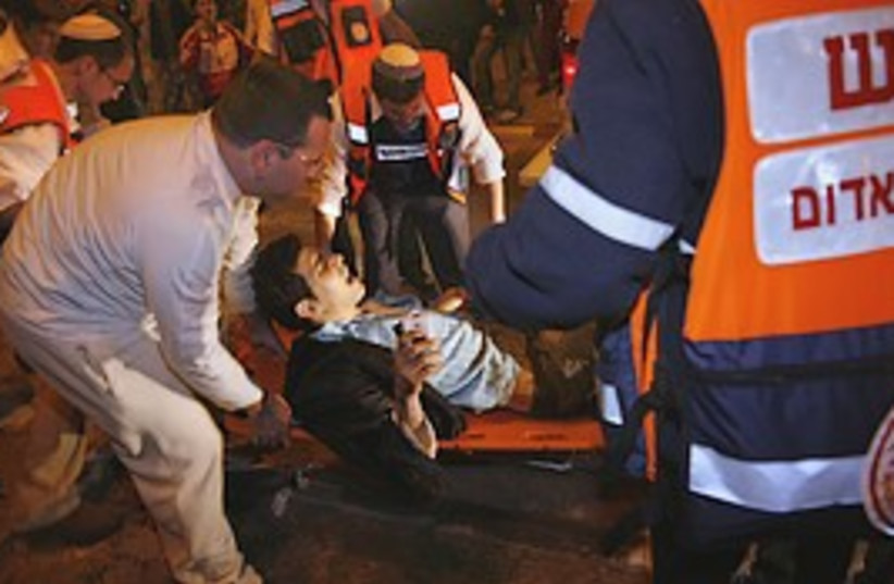 Sderot wounded 298 (photo credit: AP)