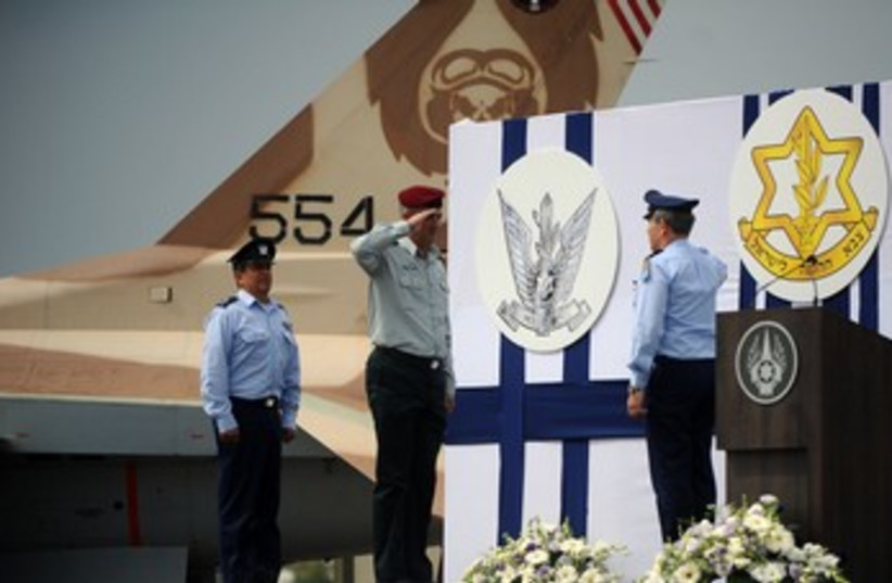 Maj.-Gen. Amir Eshel assumedscommand of IAF 370 (photo credit: IDF Spokesperson's Office)