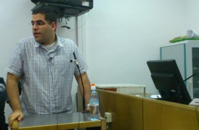 Daniel Maoz takes witness stand 370 (photo credit: MELANIE LIDMAN)