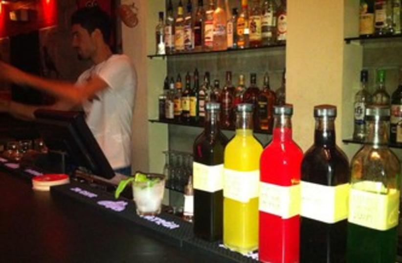 Barman at Heder 140 370 (photo credit: Yoni Cohen)