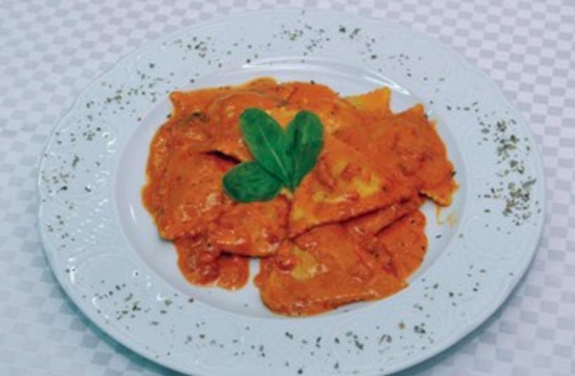 Ravioli dish 370 (photo credit: courtesy)