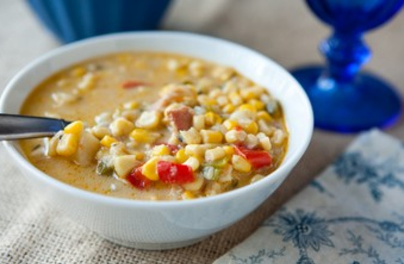 Creamy Corn Chowder 370 (photo credit: Courtesy)