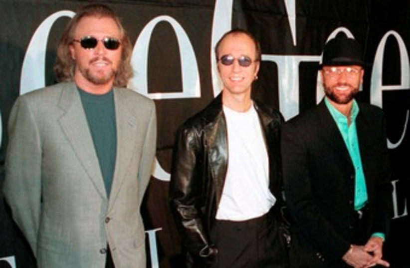 The Bee Gees [File] 370 (photo credit: REUTERS/Colin Braley)