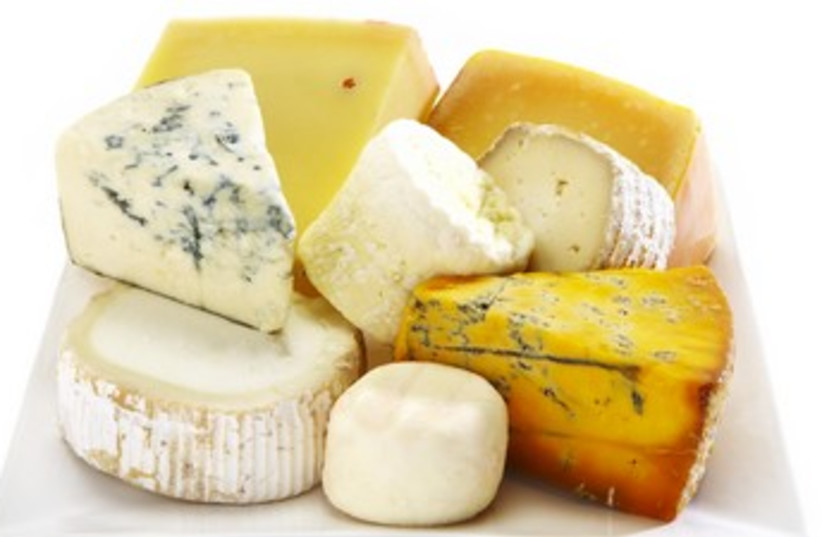 Selection of cheeses 370 (photo credit: Thinkstock/Imagebank)