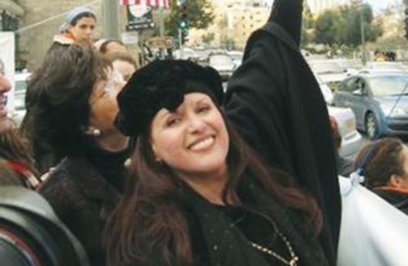 Esther Pollard (photo credit: Courtesy Justice for Jonathan Pollard)
