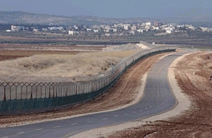 security fence 298 88 (photo credit: Ariel Jerozolimski)