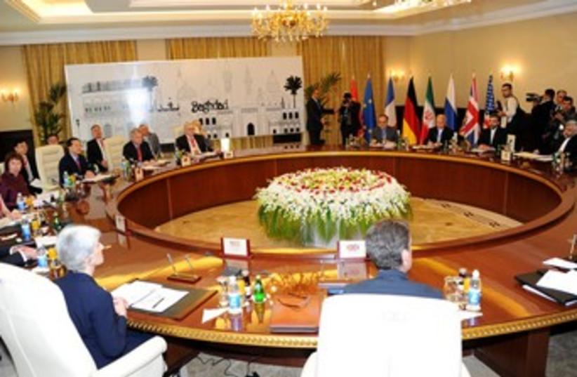 Baghdad nuclear talks 370 (photo credit: REUTERS)