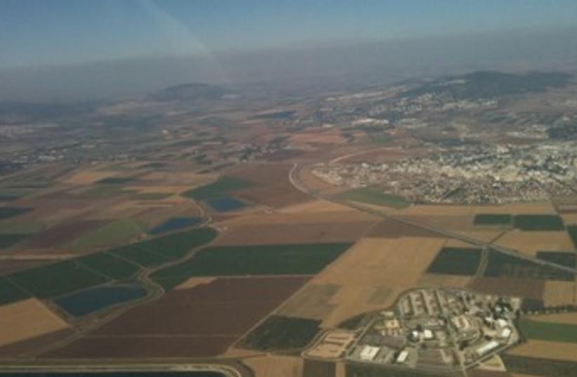 Jezreel valley (photo credit: Joe Yudin)