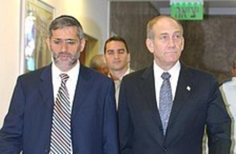 Olmert Yishai walk 224.8 (photo credit: Ariel Jerozolimski [file])