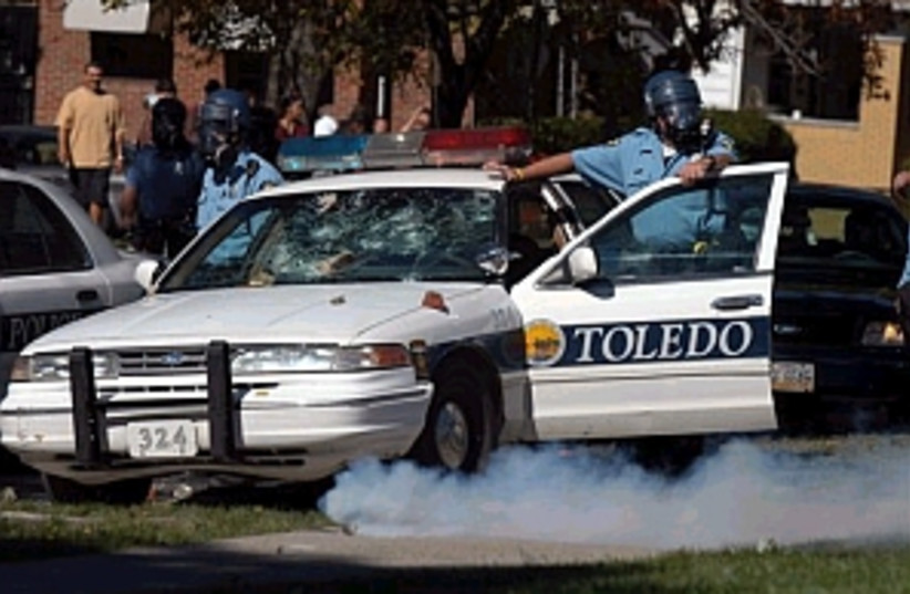 toledo riot 298.88 (photo credit: )