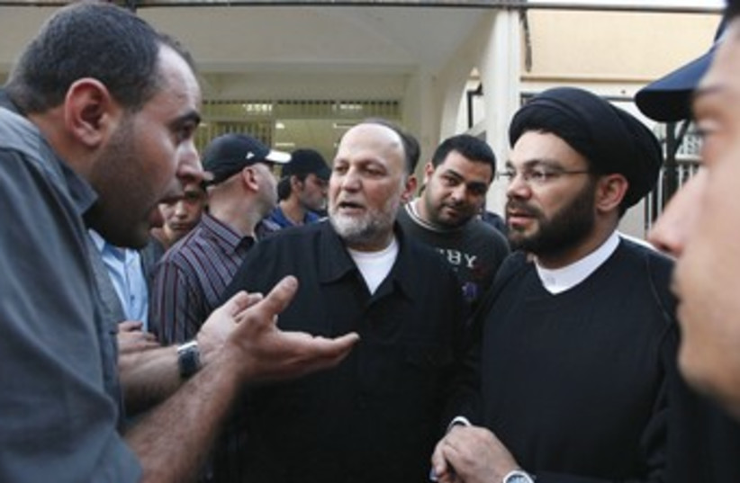 Lebanon's Hezbollah parliamentarians 370 (photo credit: REUTERS)