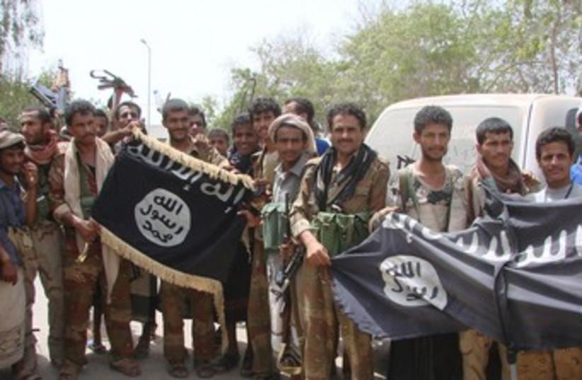 Yemeni army recaptures ground from militants 370 (photo credit: REUTERS)