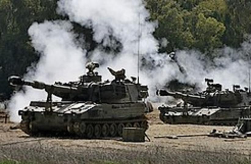 karni tanks 248.88 (photo credit: AP)