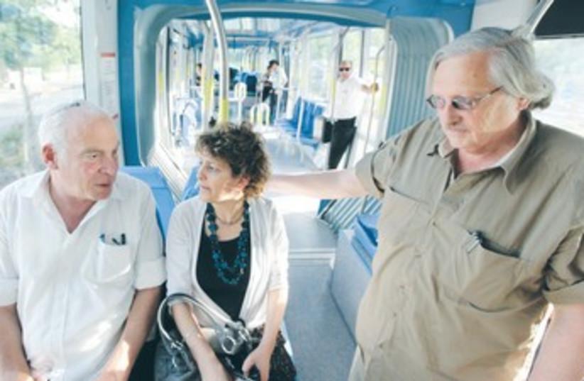 MK URI ARIEL and City Councillor Yael Entebbe 370 (photo credit: Marc Israel Sellem/The Jerusalem Post)