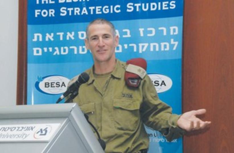Yair Golan 370 (photo credit: Meshulam Levy/BESA Center)