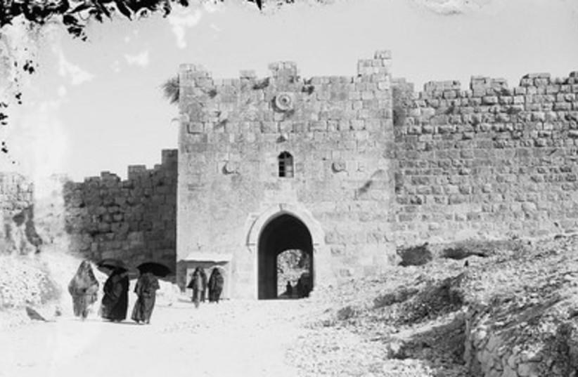 Herod's Gate (circa 1898)