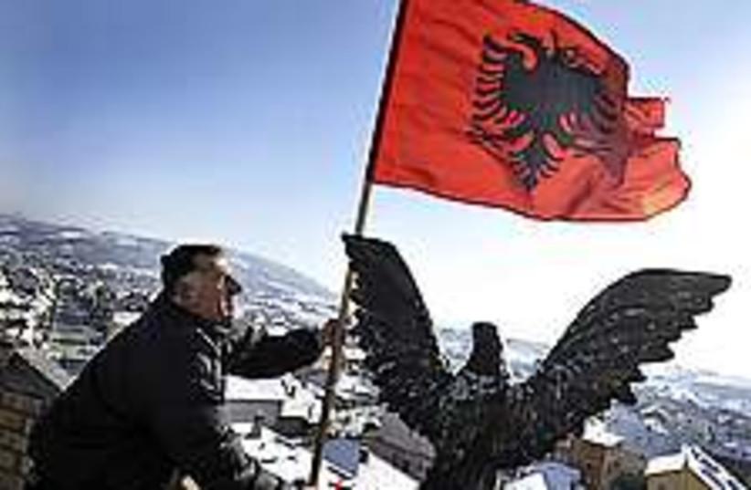 kosovo independence 224 (photo credit: AP)