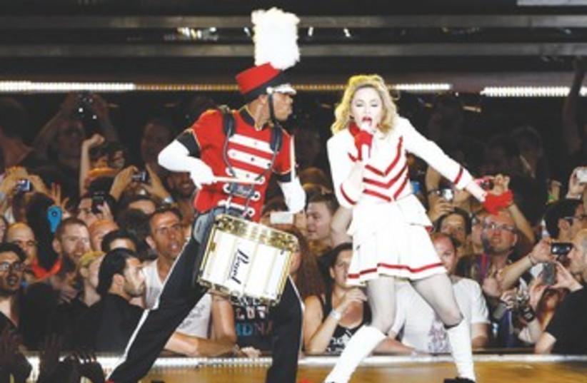Madonna 370 (photo credit: REUTERS)