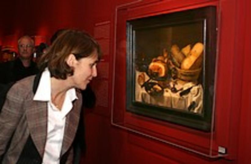nazi art expo 224.88 (photo credit: Ariel Jerozolimski)