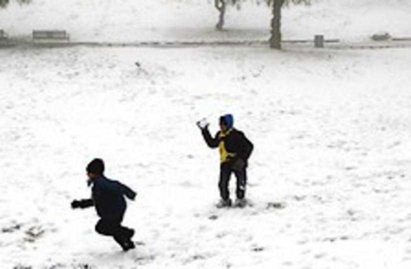 snow Sacher Park 224.88 (photo credit: Ariel Jerozolimski )