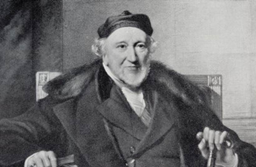 Sir Moses Montefiore 370 (photo credit: Courtesey)