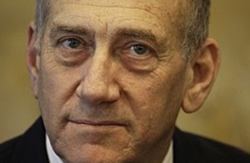 Olmert big head 224.88 (photo credit: AP [file])