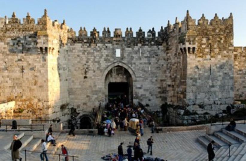 Damascus Gate 390 (photo credit: BiblePlaces.com)