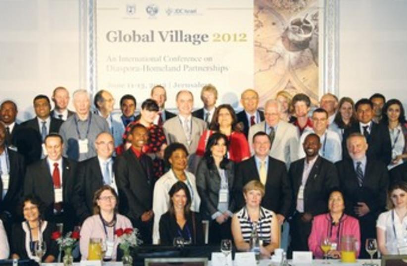 Global Village 2012 conference in Jerusalem 370 (photo credit: Scoop 80)