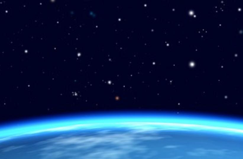 Earth from orbit 370 (photo credit: Thinkstock/Imagebank)