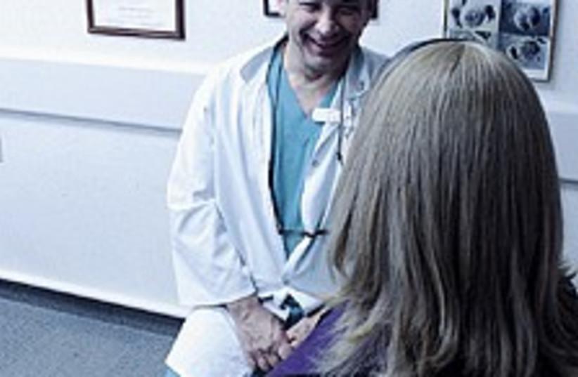 doctor woman 224.88 (photo credit: Judy Siegel)