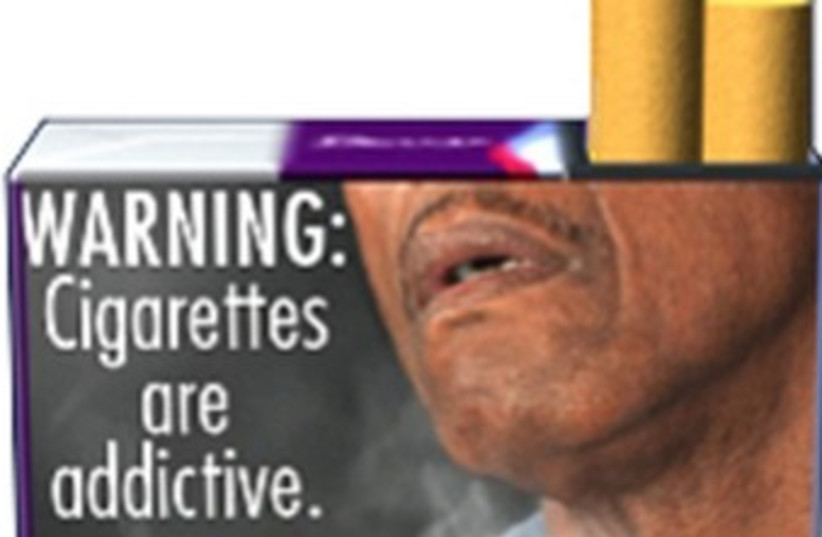 Proposed FDA cigarette warning 370 (photo credit: REUTERS/Handout .)